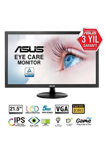 21.5 ASUS VP228DE LED 5MS FHD DSUB VESA