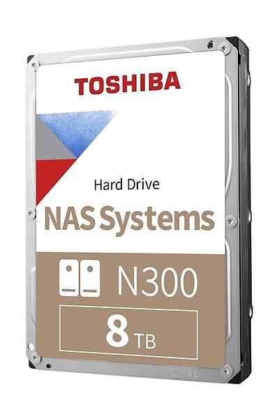 8TB TOSHIBA N300 7200RPM SATA3 NAS 128MB HDWN180UZSVA