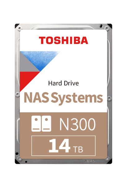 14TB TOSHIBA N300 7200RPM SATA 256MB HDEXW10ZNA51F