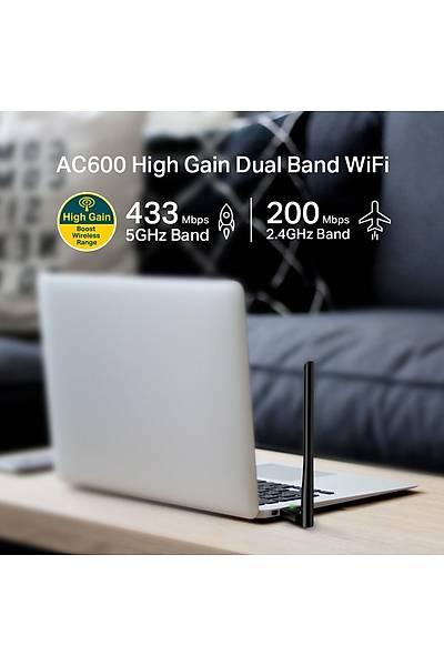 TP-LINK ARCHER T2U PLUS AC600 D.BAND USB ADAPTÖR
