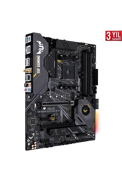 ASUS TUF GAMING X570-PLUS WI-FI DDR4  M.2 AM4