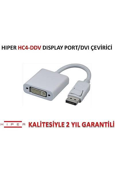 HIPER HC4-DDV DÝSPLAY PORT/DVI ÇEVÝRÝCÝ (KLÝPSLÝ)