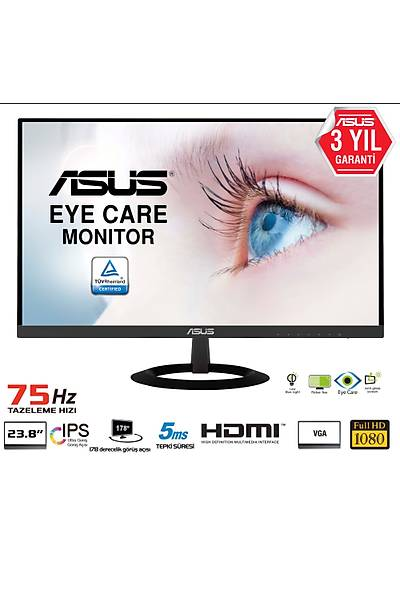 23.8 ASUS VZ249HE FHD IPS 5MS HDMI/VGA Eye Care