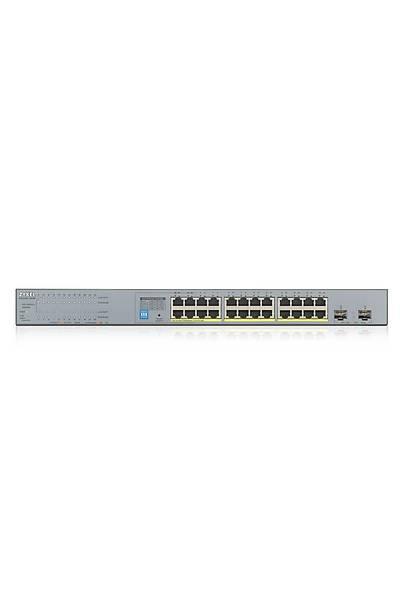 ZYXEL GS1300-26HP 26PORT GIGABIT 24PORT POE SWITCH+2 SFP 250W