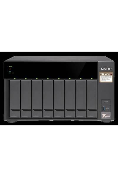 QNAP TS-873 8 HDD YUVALI TOWER NAS KAYIT CÝHAZI (4GB)