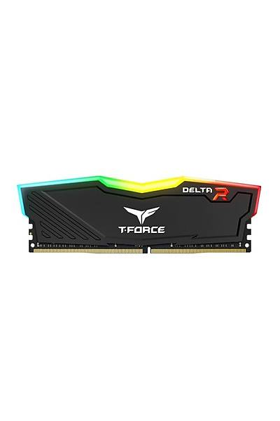 8 GB DDR4 3000 Mhz T-FORCE DELTA RGB BLACK 8GBx1