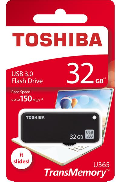 32GB USB3.0 SİYAH YAMABIKO TOSHIBA THN-U365K0320E4