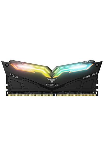 16 GB DDR4 3200 T-FORCE NIGHT HAWK RGB BLACK 8x2 TF1D416G3200HC16CDC01