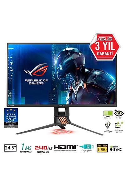 "ASUS 24.5"" PG258Q 1920x1080 1MS 240Hz DP/HDMI SIYAH +VESA +USB"