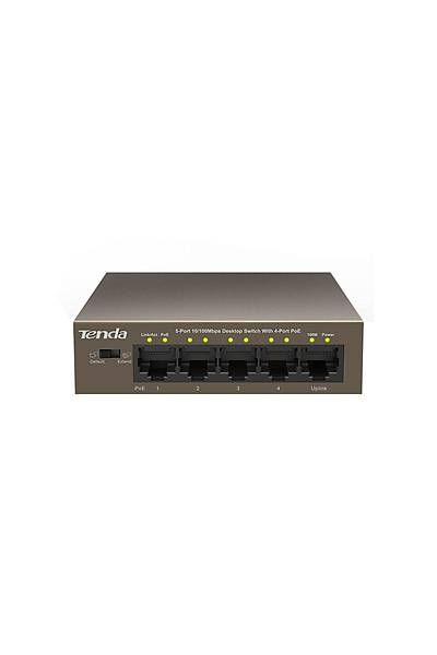 TENDA TEF1105P 5port 10/100 4port PoE 58W Switch