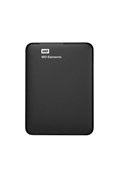 """2TB WD 2.5"""" USB3.0 ELEMENTS SİYAH WDBU6Y0020BBK-WESN"""
