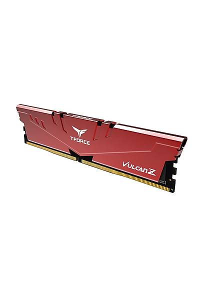 8 GB DDR4 3200 Mhz T-FORCE VULCAN Z RED 8GBx1 TEAM TLZRD48G3200HC16C01