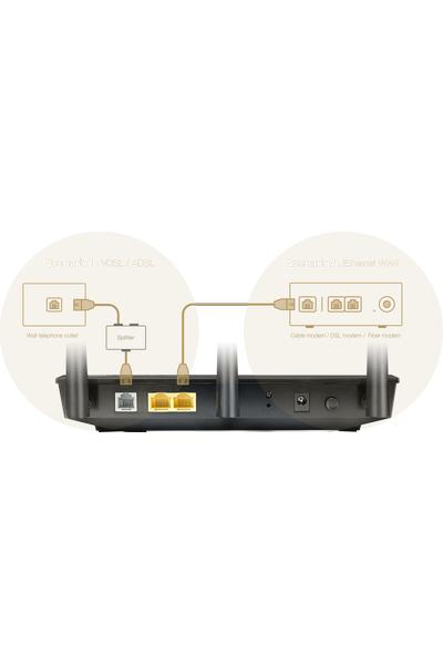 ASUS DSL-AC750  ADSL VDSL KABLOSUZ MODEM ROUTER