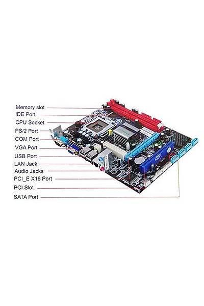 ESONİC G41CDL DDR3 VGA LAN AUDIO ANAKART