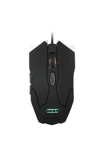 HIPER IRON IMPACT X30 Gaming Mouse/Mouse Pad SET Programlanabilir 3200DPI