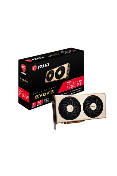 MSI RADEON RX 5700 XT EVOKE OC 8G 256BIT DDR6