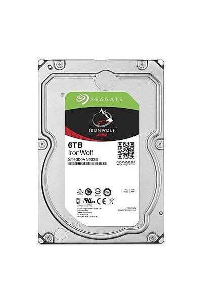6TB SEAGATE IRONWOLF 7200RPM 256MB NAS ST6000VN0033