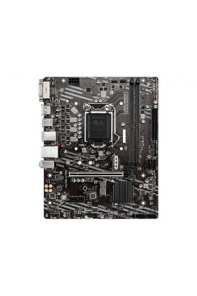 MSI H410M-A PRO SOKET 1200 DDR4 2933 DVI HDMI MATX