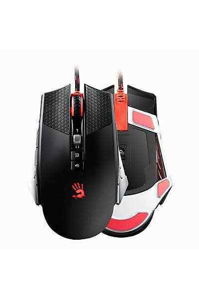 BLOODY T6 MULTI-CORE MOUSE USB GÜMÜŞ SYAH