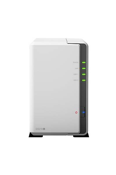SYNOLOGY DS218J NAS 3.5x2YUVA 1 LAN NAS SERVER