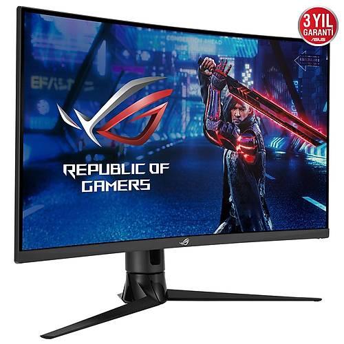 ASUS ROG STRIX XG32VC 31.5 GAMING VA KAVISLI AURA RGB FREESYNC 2 HDR 2K 2560x1440 1MS(MPRT) 170HZ DP HDM USB Type-C VESA 3YIL ELMB.