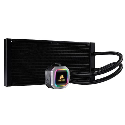 CORSAIR CW-9060038-WW HYDRO SERISI H115I RGB PLATINUM 280 MM SIVI ISLEMCI SOGUTUCUSU (INTEL 1200 1150 1151 1155 1156 1366 2011 2066 / AMD AM4, AM3, AM2, STRX4, STR4)