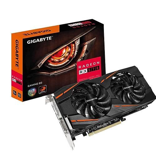 Gigabyte RX 570 Gaming OC 8GB 256Bit GDDR5 PCI-E 3.0 Ekran Kartý