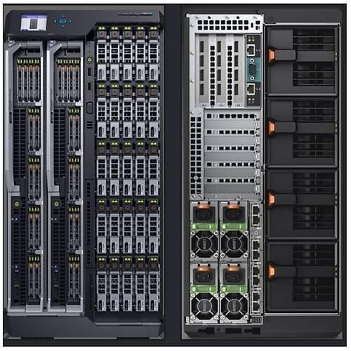 DELL SRV VRTXC025YR VTRX 12x10TB 12x3.5 2xRPS E22S001