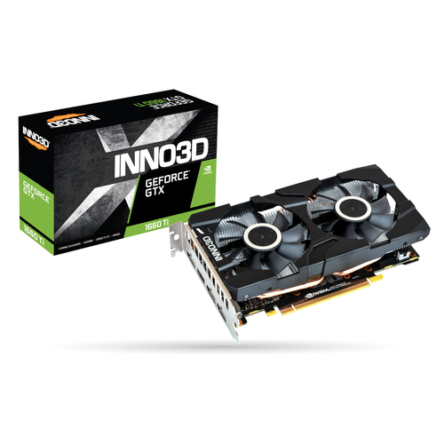 INNO3D GEFORCE GTX 1660 TI TWIN X2 6GB GDDR6 192Bit DX12 GAMING EKRAN KARTI
