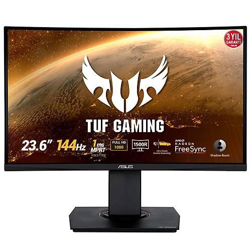 ASUS TUF GAMING VG24VQ 23.6 FREESYNC1920x1080 1MS 144HZ DP HDMI MM PIVOT