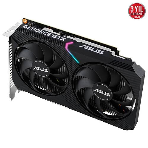 ASUS GeForce GTX 1650 DUAL 4GB GDDR6 128 Bit Ekran Kartý