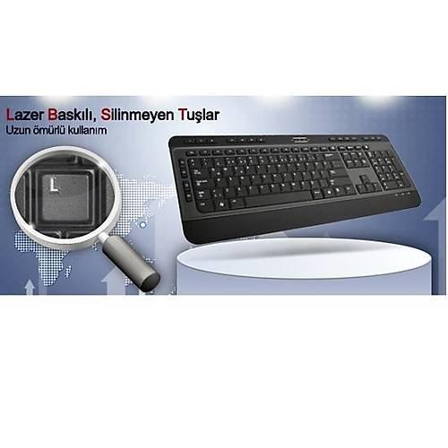 HIPER KM-3900 MULTIMEDIA KLAVYE USB SÝYAH