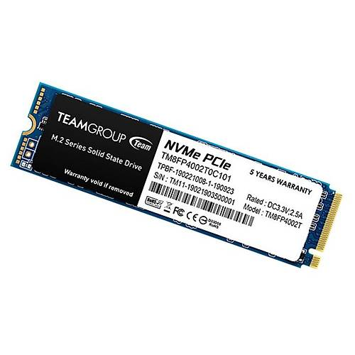2TB TEAM MP34 3500/2900MB/s NVMe PCIe M.2 SSD TM8FP4002T0C101