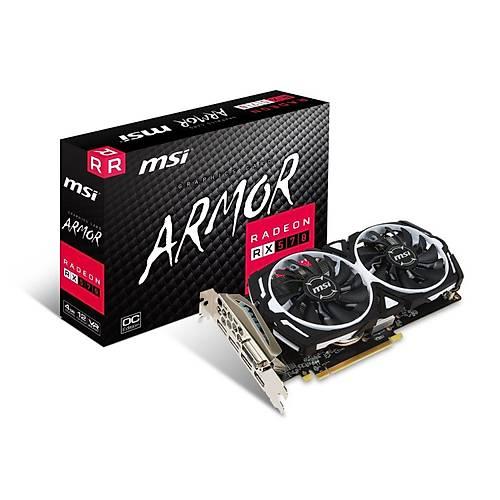 MSI RX 570 ARMOR 4G OC DDR5 256Bit 3xHDMI/DVI