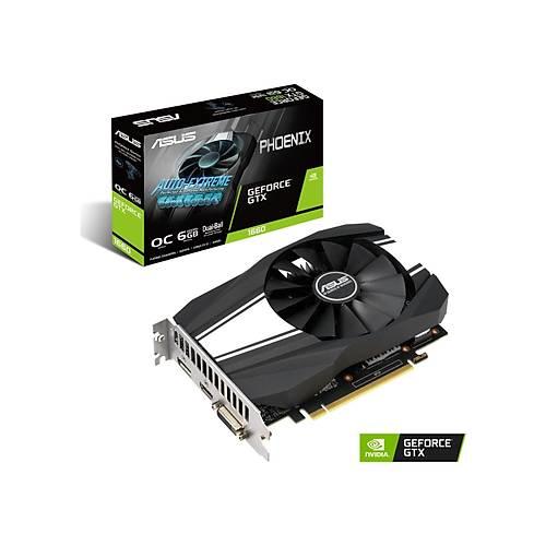ASUS PH-GTX1660-O6G GDDR6 6GB 192Bit HDMI DP