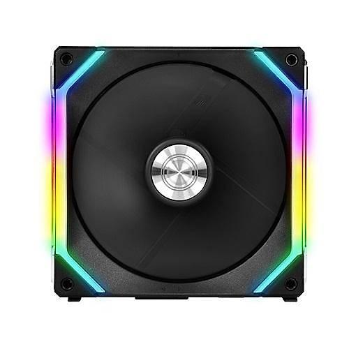 LIAN LI UNI FAN SL120 BLACK 3x120 MM RGB SÝYAH MODÜLER KASA FANI