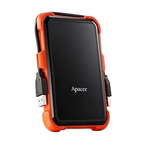 2TB APACER AC630 TURUNCU USB DÝSK GEN1 USB 3.1 DARBEYE DAYANIKLI