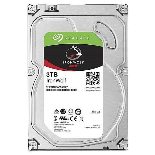 3TB SEAGATE IRONWOLF 5900RPM 64MB NAS ST3000VN007