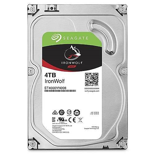 4TB SEAGATE IRONWOLF 5900R 64MB NAS RV ST4000VN008