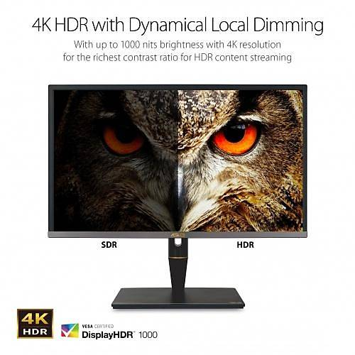ASUS PROART PA27UCX-K 27 4K IPS 3840x2160 5MS DP MINIDP 2HDMI 2DP