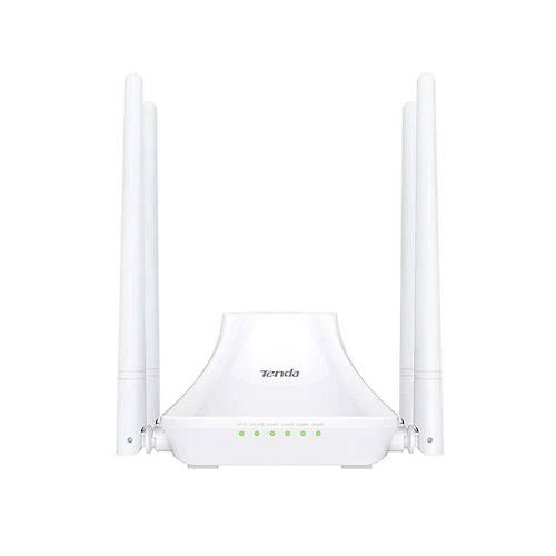 TENDA F6 4 PORT WiFi-N 300Mbps ROUTER 4 ANTEN
