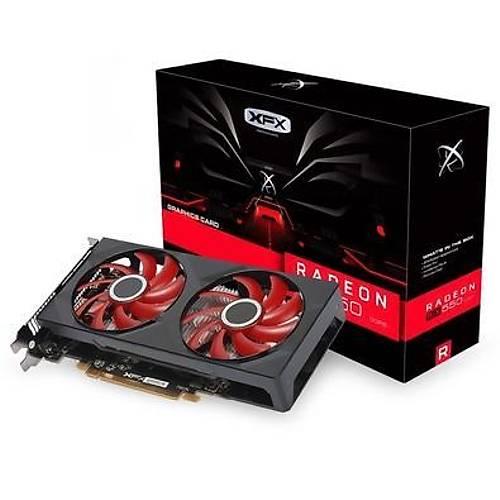 XFX RX550 DOUBLE DÝSSÝPATÝON 4GB GDDR5 RX-550P4PFG5