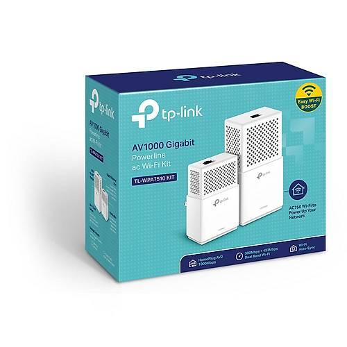 TP-LINK TL-WPA7510KIT 300MBPS AV1000 POWERLINE ADP