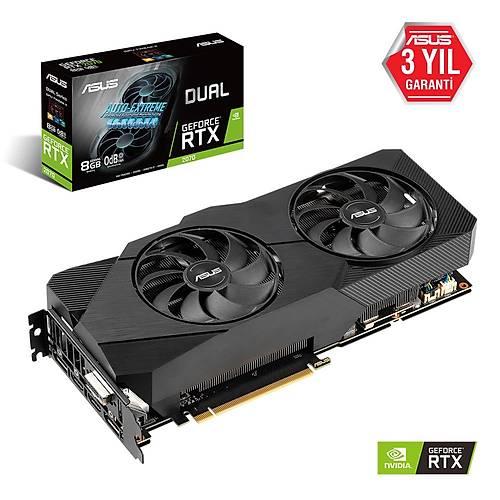 ASUS DUAL-RTX2070-8G-EVO 8GB GDDR6 256Bit HDMI