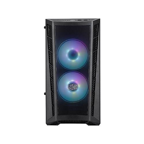 COOLER MASTER MASTERBOX MB311L 600W 3x120mm RGB FANLI MINI TOWER KASA