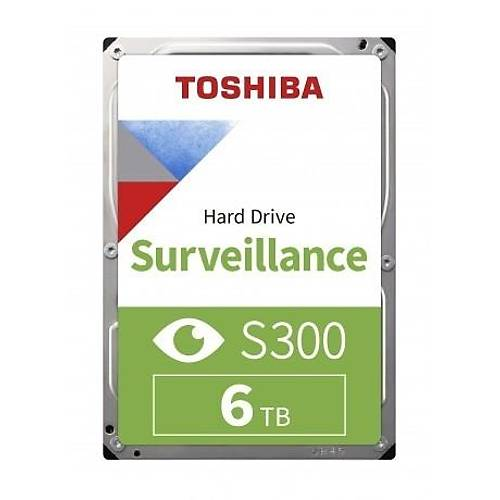 6TB TOSHIBA 7200RPM S300 SATA3 256MB HDWT860UZSVA