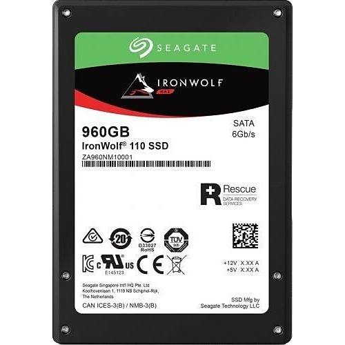 "960GB SEAGATE 2.5"" IRONWOLF 110 NAS SSD ZA960NM10011"