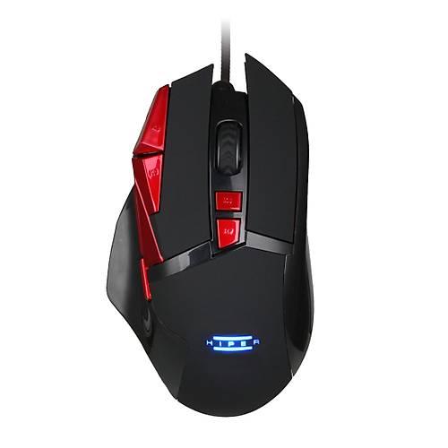 HIPER HELL BREAKER X10 Gaming Mouse/Mouse Pad SET Programlanabilir 3200DPI