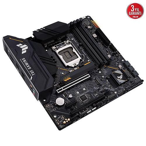 ASUS TUF GAMING B560M-PLUS DDR4 5000(OC) mATX 1200P