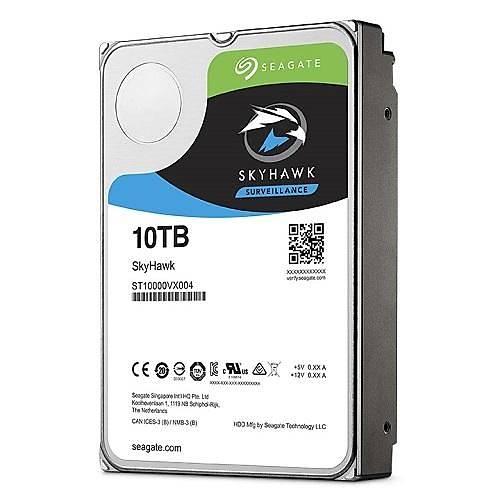 10TB SEAGATE SKYHAWK 256MB 7/24 RV ST10000VX0004 (Seagate TR Disty Garantili)